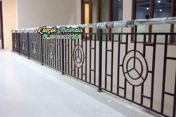 Jasa Railing Tangga Minimalis Klasik Besi Tempa Klasik