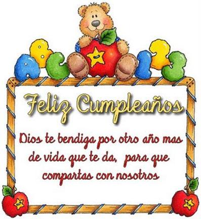 cumpleaños bendecido