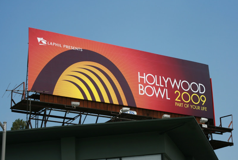 Hollywood Bowl 2009 billboard
