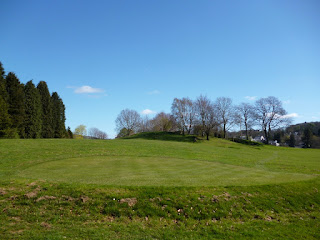 Pitch & Putt Golf course at The Glebe in Bowness-on-Windermere