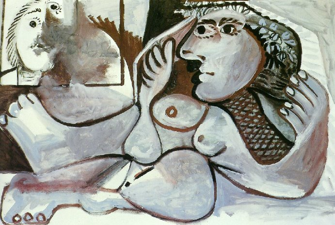 Pablo Picasso 1881-1973 | Nude Paintings