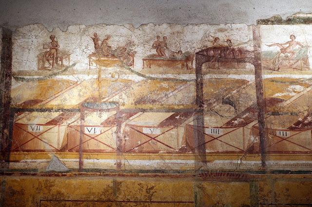 Για τα ερωτικά χρονογραφήματα που κοσμούν τους τοίχους της Πομπηίας