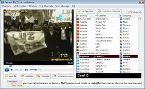 اليكم البرنامج المحتكر Falcovis MyTV لمشاهدة جميع قنوات العالم
