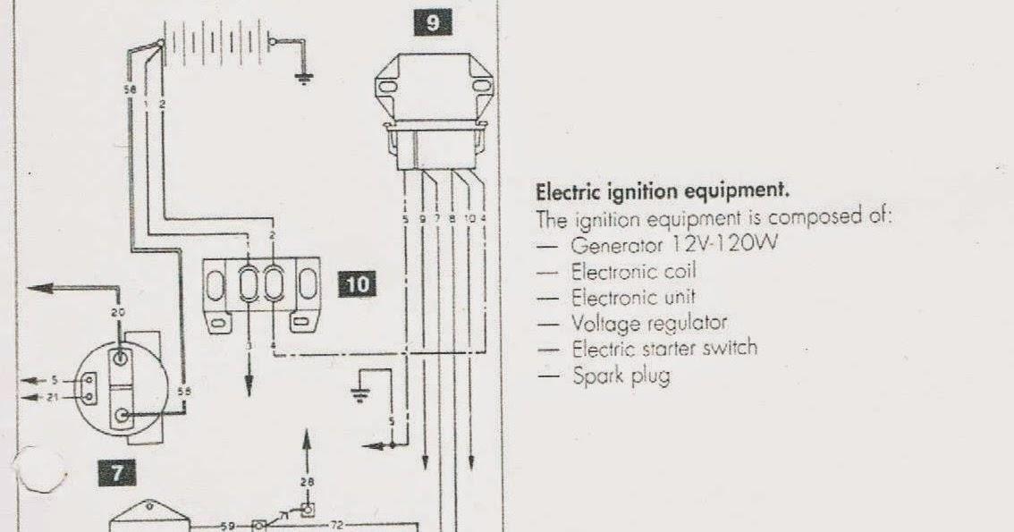 CAGIVA MITO 125 : Cagiva Mito Electronic ignition system