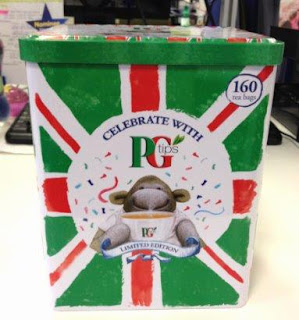 pg tips, jubilee edition