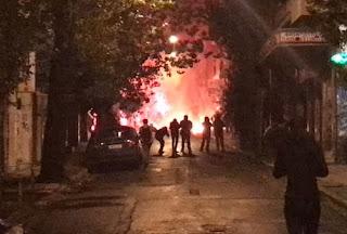 Έκτακτο: Επεισόδια στην οδό Σολωμού [photos+video]