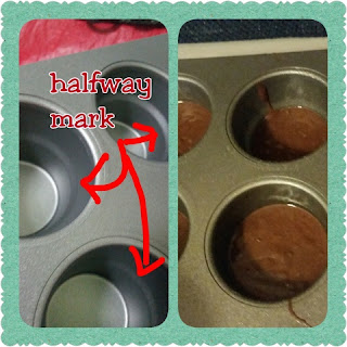 filling Baker's Advantage Fillable Cup Cake Cone Pan