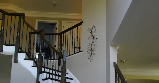 Iron Balusters Stairs and Handrail Remodel in Moorestown NJ