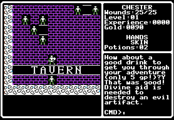 The Crpg Addict Game 183 Shadowforge 1989