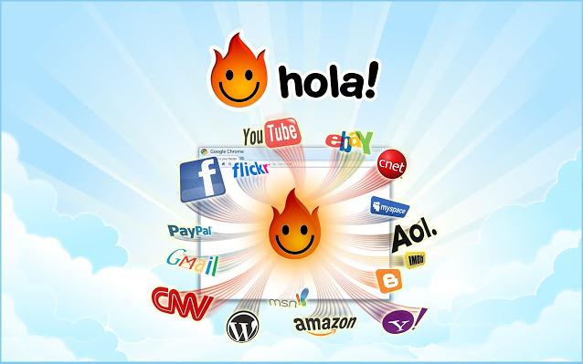 تنزيل اضافة هولا لقوقل كروم Unlimited Free VPN - Hola