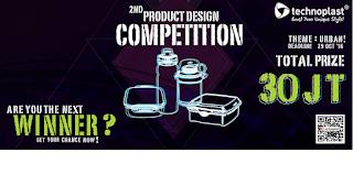 Kontes Desain Produk Technoplast Berhadiah TOtal 30 Juta