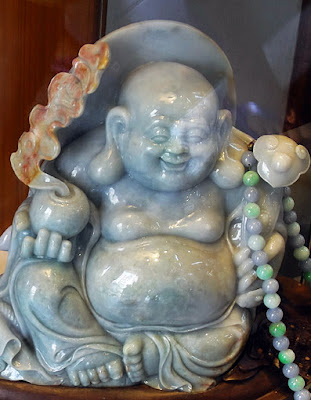 Laughing Jade Buddha