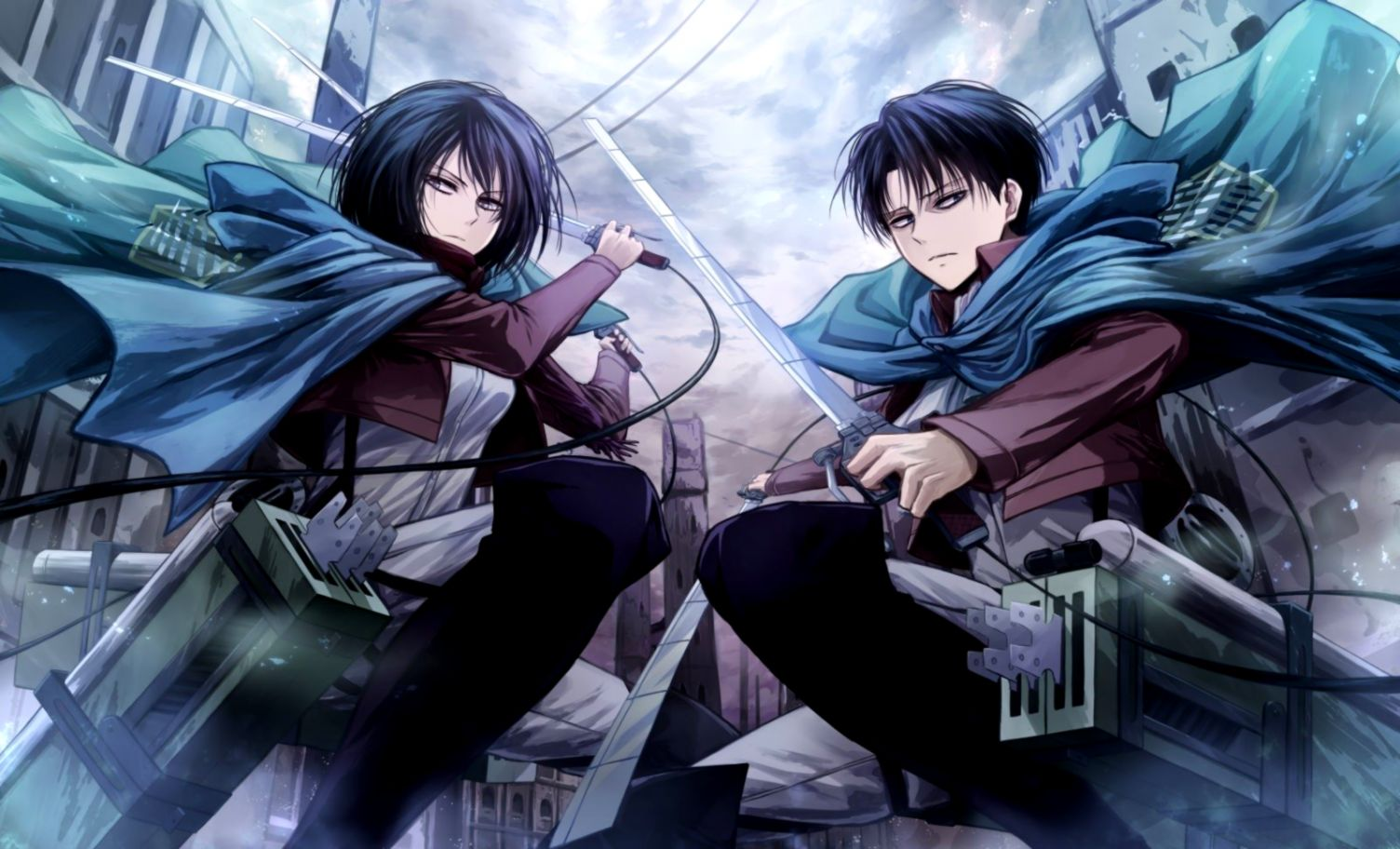 403 Levi Ackerman HD Wallpapers Background Images Wallpaper Abyss