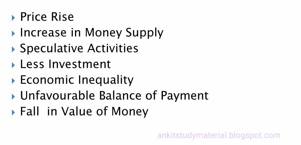 Limitations Of Deficit Financing: