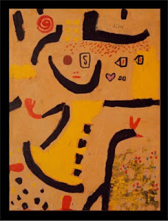 Paul Klee painting - A Childrens Game