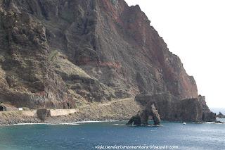 Acceso al Roque Bonanza - Túnel y antigua carretera