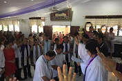 RR - RD Mendapat Pengutusan Jemaat GMIM Sawangan