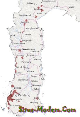 Jangkauan Smartfren 4G LTE Wilayah Kalimantan dan Sulawesi