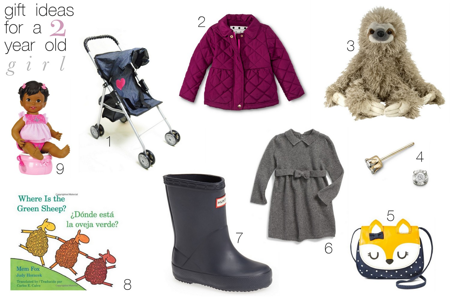 A LITTLE BIT OF LACQUER: Gift Ideas for a Two Year Old Girl