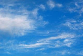 Foto de nubes dispersas
