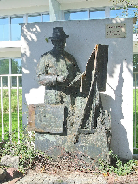 Wojciech Kossak i Jurata, pomnik