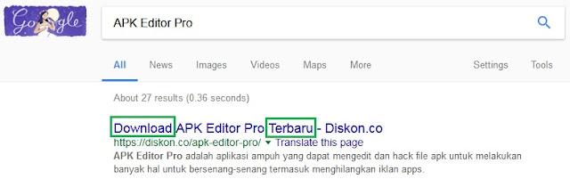 Contoh Title ReWrite Di Hasil Pencarian Google