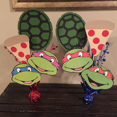 How to plan the perfect party to keep from losing your mind. Step-by-step guide to party planning. Party planning North Alabama. Teenage Mutant Ninja Turtles party decorations