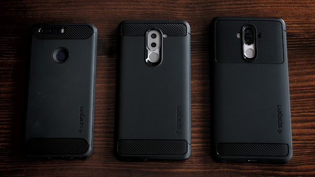 Spigan Rugged Armor Cases for Huawei Honor 8, Honor 6x, Mate 9
