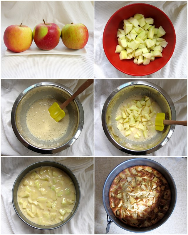 Apple Pie Cake Recipe In Urdu