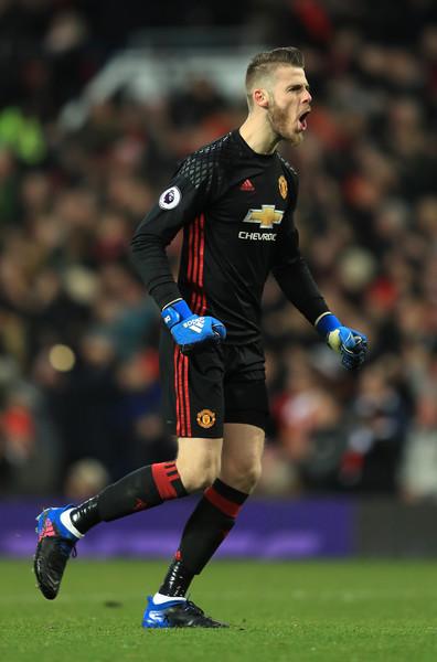 David De Gea 2017 Manchester United