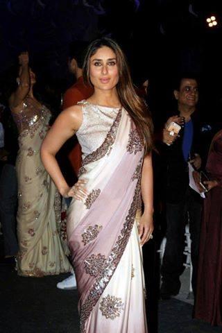 kareena kapoor khan looks hot in saree