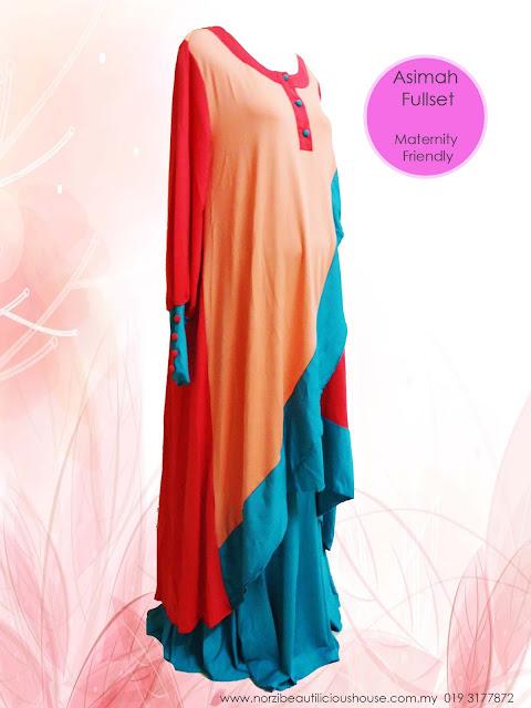 baju mengandung cantik murah baju mengandung murah LR fashion jubah cantik wholesale