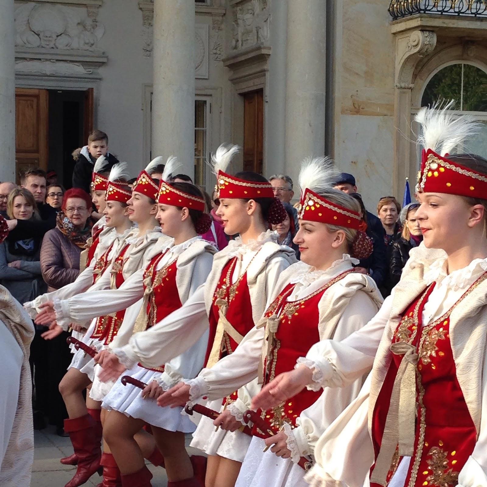 Tance ludowe Łazienki Królewskie 2016