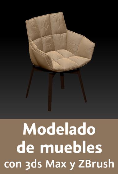 Video2Brain: Modelado de muebles con 3ds Max y ZBrush