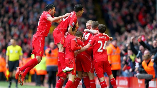VIDEO Liverpool 2 - 1 Manchester City Highlights Premier League