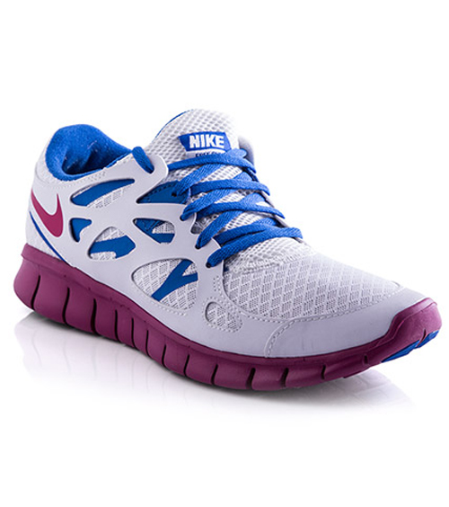 af4635286dd7 Women s Nike Free Run+ 2 EXT - White - Hook of the Day