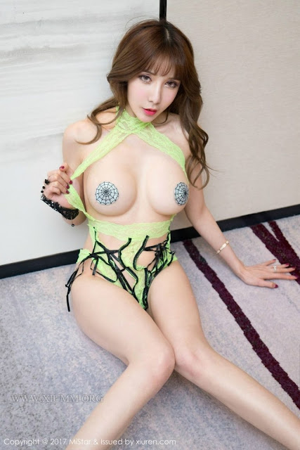 Hot girls Korean sexy girl Spider nipple 4