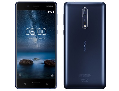 Nokia 8 Specs: Has Three 13 Megapixel Cameras with Zeiss Optics