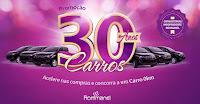 Promoção 30 Anos Rommanel rommanel30anos30carros.com.br