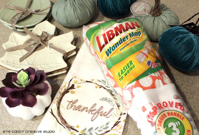 target haul, cleaning tools, libmanBTS, the libman company, fall decor