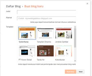garap blog - cara terbaru membuat blog blogspot