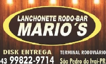 LANCHONETE DO MARIOS