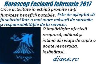 Horoscop februarie 2017 Fecioară