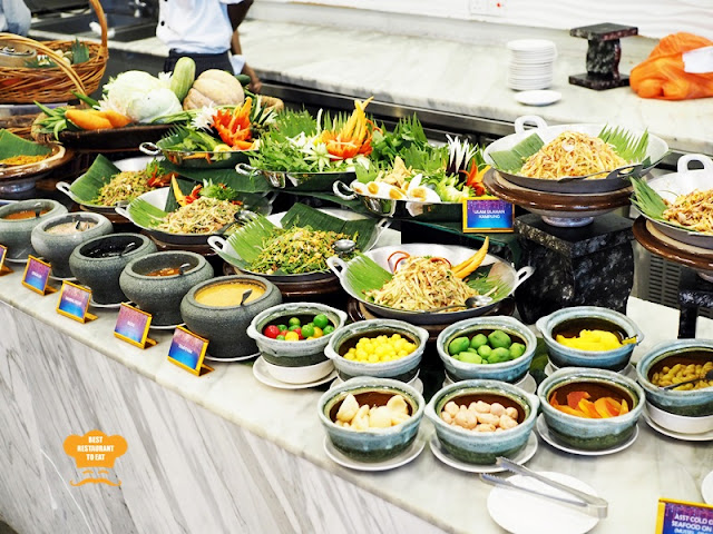 Salad and Ulam Station Ramadhan 2018 Buffet Klang Premiere Hotel Warna Warni Ramadhan