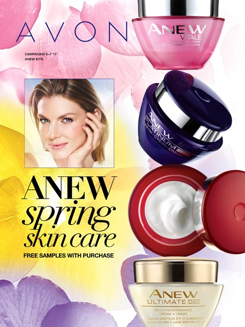 Avon Catalog 6 2017 - Skin Care Sales