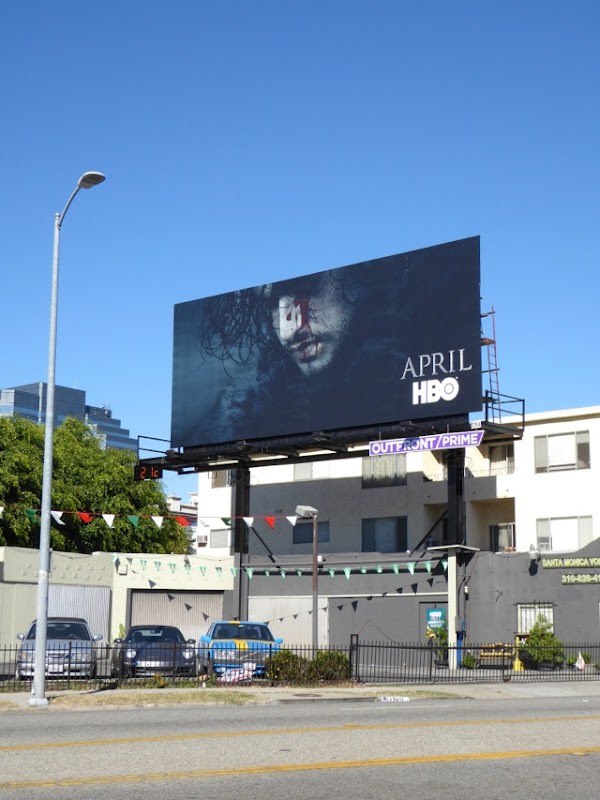 Game of Thrones season 6 teaser billboard