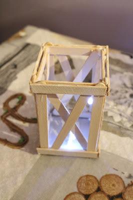 latarnia w stylu skandynawskim
