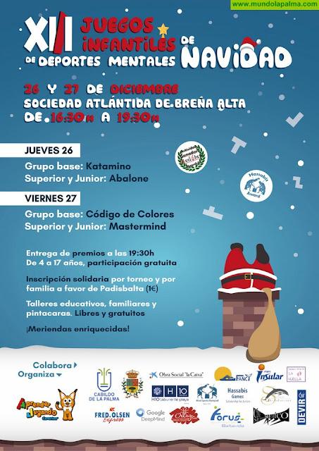 XIII Juegos Infantiles de Deportes Mentales de Navidad en Breña Alta (De 4 A 17 Años)