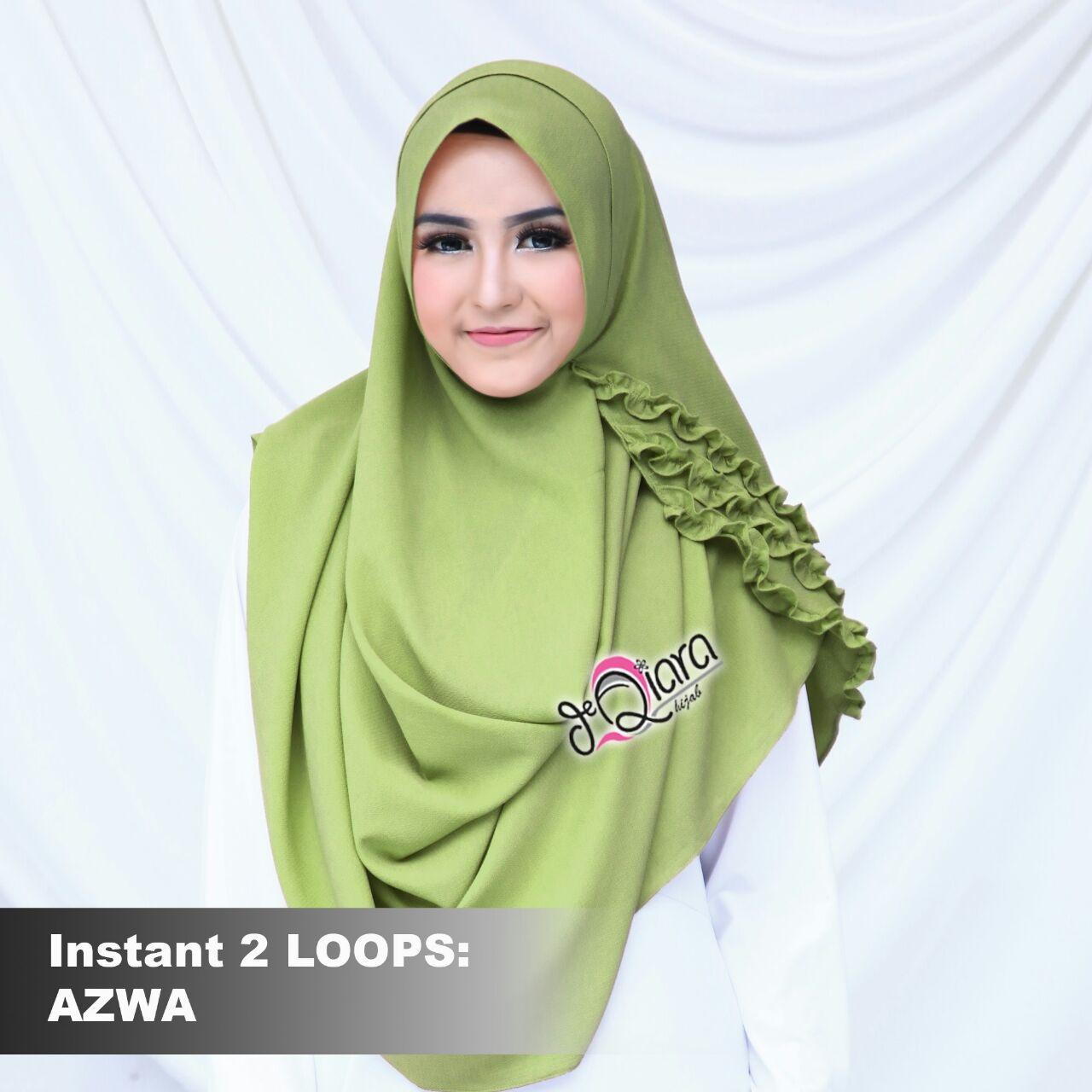 Gratis Model Hijab Instan Terbaru Harga Murah Dan Paling Populer Pashmina Hana 1 Loop Modifikasi Modern