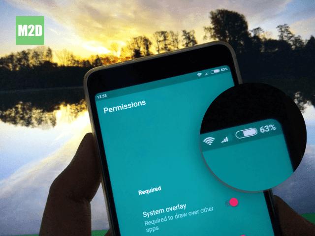 Sudut-sudut Membulat pada Layar Android